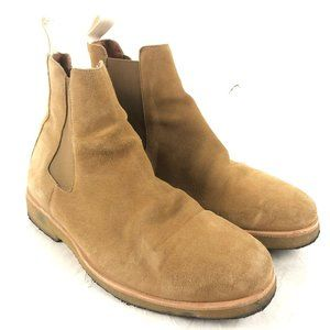 Oliver Cabell Cappuccino Suede Leather Chealsea